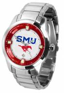 Southern Methodist Mustangs Titan Steel Men's Watch