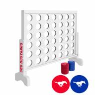 Southern Methodist Mustangs Victory Connect 4