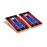 Southern Methodist Mustangs Vintage Cornhole Game Set