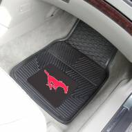 Southern Methodist Mustangs Vinyl 2-Piece Car Floor Mats