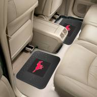 Southern Methodist Mustangs Vinyl 2-Piece Rear Floor Mats