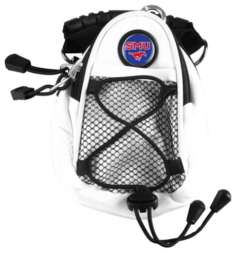 Southern Methodist Mustangs White Mini Day Pack
