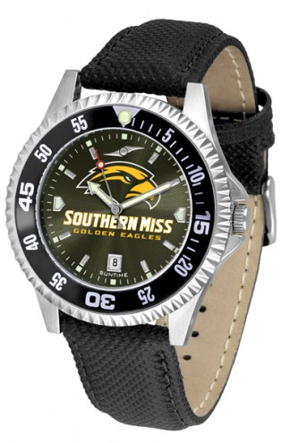 Southern Mississippi Golden Eagles Competitor AnoChrome Men's Watch - Color Bezel
