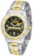 Southern Mississippi Golden Eagles Competitor Two-Tone AnoChrome Men's Watch