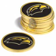 Southern Mississippi Golden Eagles 12-Pack Golf Ball Markers
