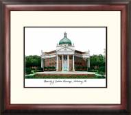 Southern Mississippi Golden Eagles Alumnus Framed Lithograph