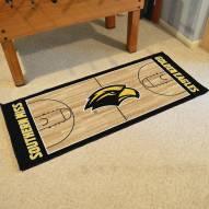 Southern Mississippi Golden Eagles Basketball Court Runner Rug