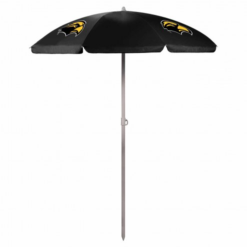 Southern Mississippi Golden Eagles Beach Umbrella