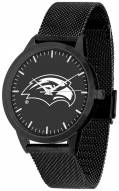 Southern Mississippi Golden Eagles Black Dial Mesh Statement Watch