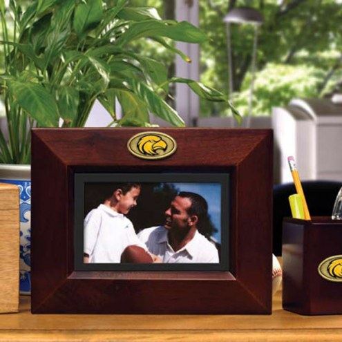 Southern Mississippi Golden Eagles Brown Landscape Picture Frame