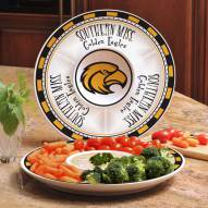 Southern Mississippi Golden Eagles Ceramic Chip and Dip Serving Dish
