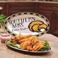 Southern Mississippi Golden Eagles Ceramic Serving Platter