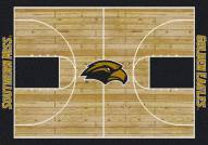 Southern Mississippi Golden Eagles College Home Court Area Rug