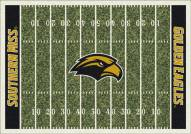 Southern Mississippi Golden Eagles College Home Field Area Rug