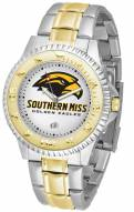 Southern Mississippi Golden Eagles Competitor Two-Tone Men's Watch