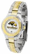 Southern Mississippi Golden Eagles Competitor Two-Tone Women's Watch