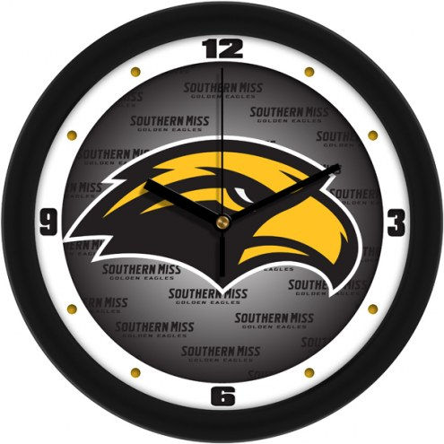 Southern Mississippi Golden Eagles Dimension Wall Clock