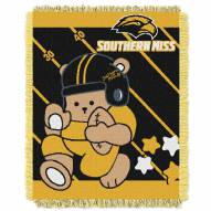 Southern Mississippi Golden Eagles Fullback Baby Blanket