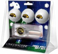 Southern Mississippi Golden Eagles Golf Ball Gift Pack with Kool Tool