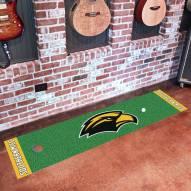 Southern Mississippi Golden Eagles Golf Putting Green Mat