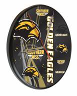 Southern Mississippi Golden Eagles Digitally Printed Wood Clock