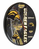 Southern Mississippi Golden Eagles Digitally Printed Wood Clock