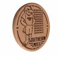 Southern Mississippi Golden Eagles Laser Engraved Wood Sign