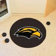 Southern Mississippi Golden Eagles Hockey Puck Mat