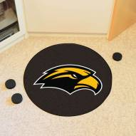 Southern Mississippi Golden Eagles Hockey Puck Mat