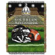 Southern Mississippi Golden Eagles Home Field Advantage Throw Blanket