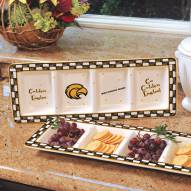 Southern Mississippi Golden Eagles NCAA Ceramic Relish Tray