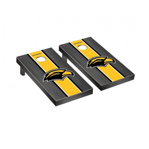 Southern Mississippi Golden Eagles Onyx Stained Cornhole Game Set