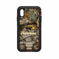 Southern Mississippi Golden Eagles OtterBox iPhone XS Max Defender Realtree Camo Case