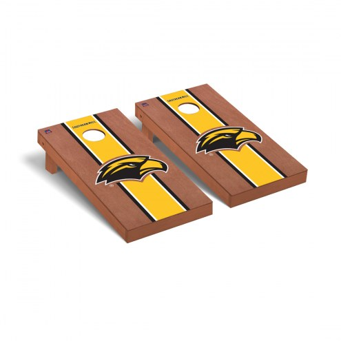Southern Mississippi Golden Eagles Rosewood Stained Cornhole Game Set