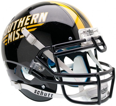 Southern Mississippi Golden Eagles Schutt XP Authentic Full Size Football Helmet
