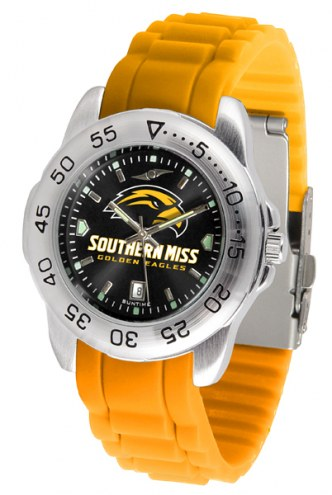 Southern Mississippi Golden Eagles Sport Silicone Men's Watch