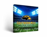 Southern Mississippi Golden Eagles Stadium Canvas Wall Art