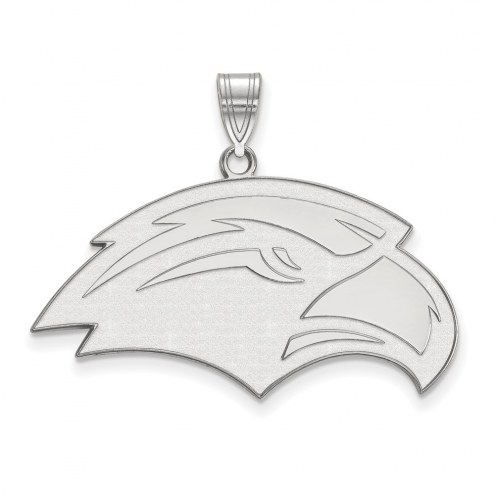 Southern Mississippi Golden Eagles Sterling Silver Large Pendant