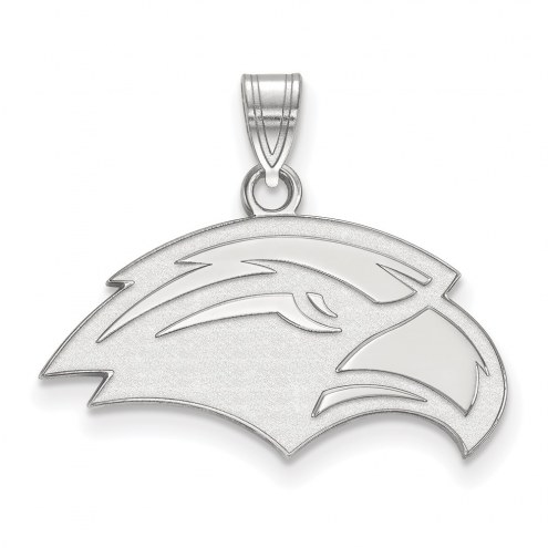 Southern Mississippi Golden Eagles Sterling Silver Small Pendant