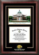 Southern Mississippi Golden Eagles Spirit Diploma Frame with Campus Image