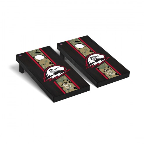 Southern Utah Thunderbirds Operation Hat Trick Onyx Stained Cornhole Game Set
