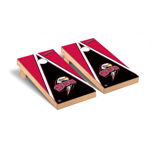 Southern Utah Thunderbirds Triangle Cornhole Game Set