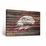 Southern Utah Thunderbirds Weathered Canvas Wall Art
