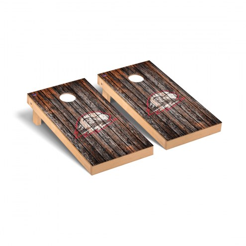 Southern Utah Thunderbirds Weathered Cornhole Game Set