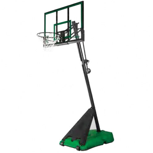 "Spalding 50"" Hercules Portable Adjustable Basketball Hoop"