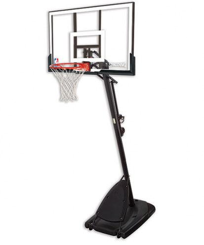 Spalding 66291 Residential Portable Adjustable Basketball Hoop