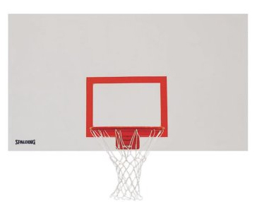 "Spalding 72"" x 42"" Indoor/Outdoor Steel Basketball Backboard"