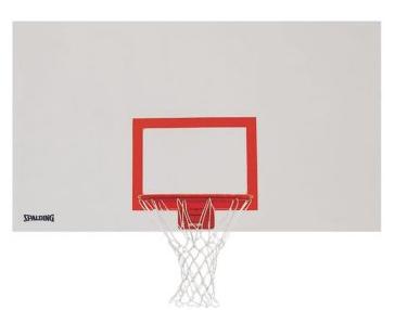 "Spalding 72"" x 42"" Indoor/Outdoor Steel Basketball Backboard"