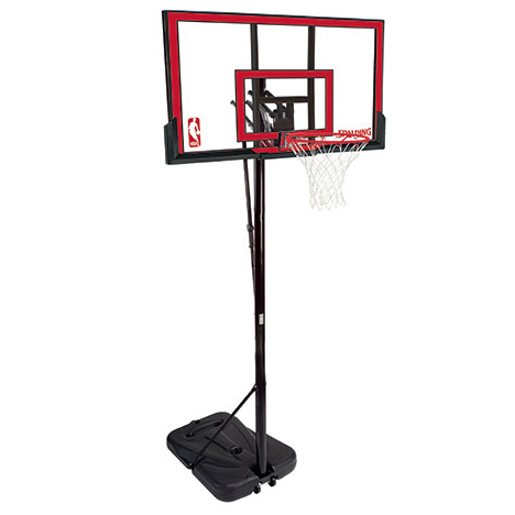 Spalding 72354 Residential Adjustable Portable Basketball System