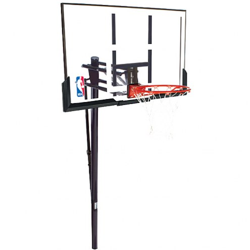 Spalding NBA 88307PR In Ground Adjustable Basketball System